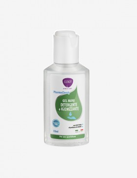 PharmaClendy Gel Mani Detergente e Igienizzante - 80ml