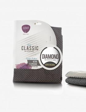 Panno in microfibra Diamond superfici delicate vetri, specchi